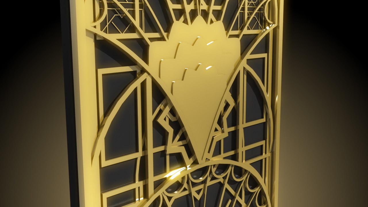 ... Art Deco Pack 2 3D Model ...