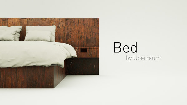 3D bed modelled