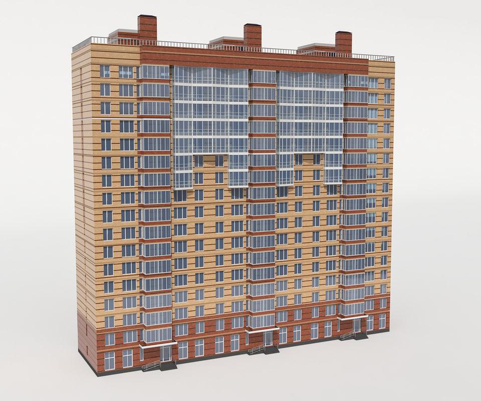 3D new building model