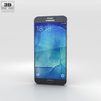 samsung a8 galaxy 3D model