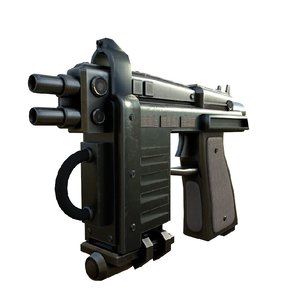 3D gun blaster