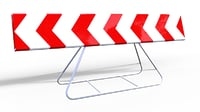 road sign model