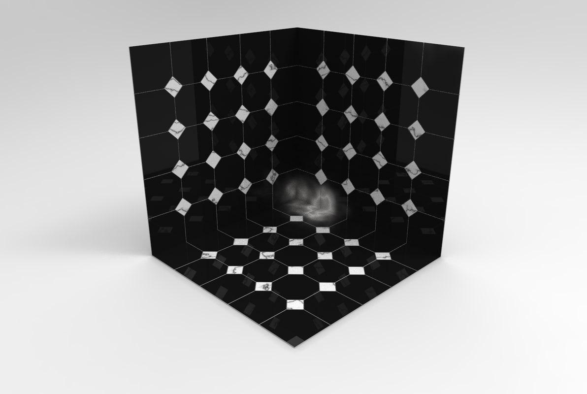 marble floor 3D model