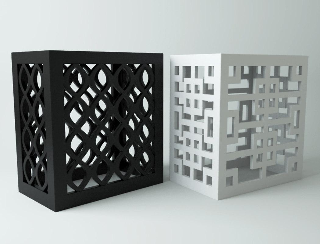 black white end tables model