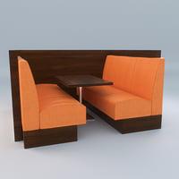 Bar Sofa Twin
