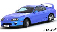 toyota supra turbo 1997 3D