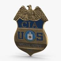 cia-badge model