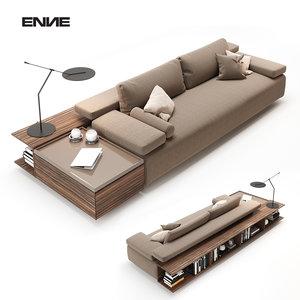 3D sofa living room