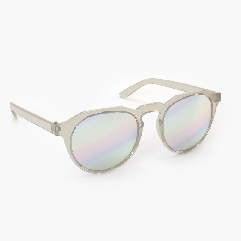 3D model sunglasses 001