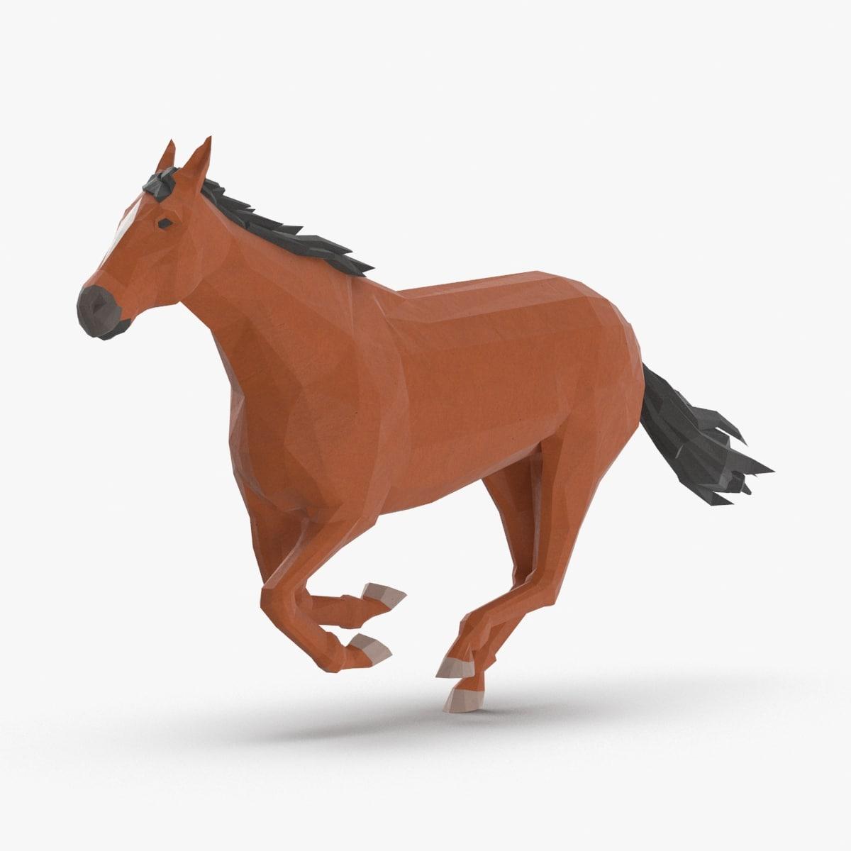 horse---running model