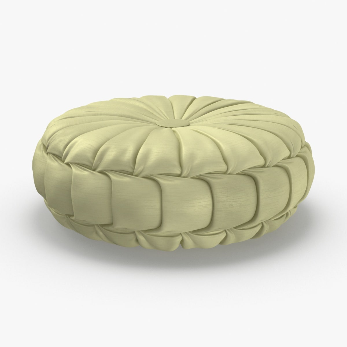 3D model throw-pillow-05---yellow