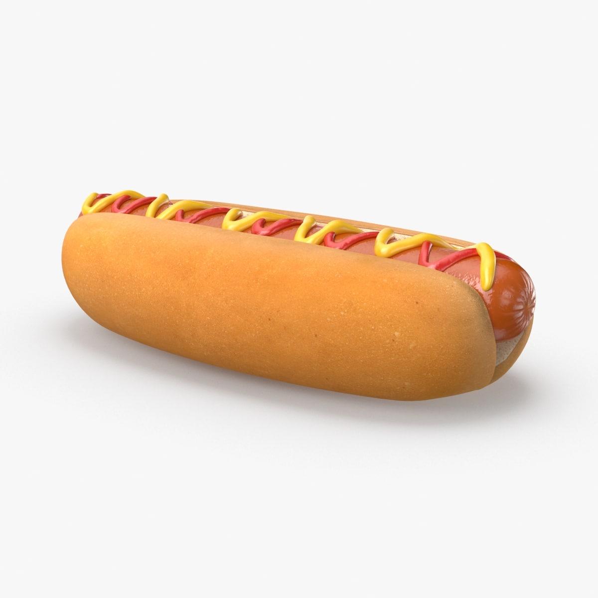hot-dog 3D