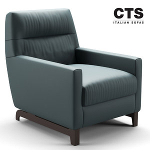 3D chair cts model