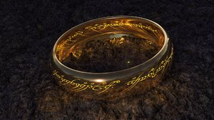 3D lord rings - omnipotence model