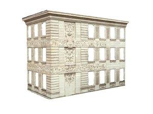 baroque facade model