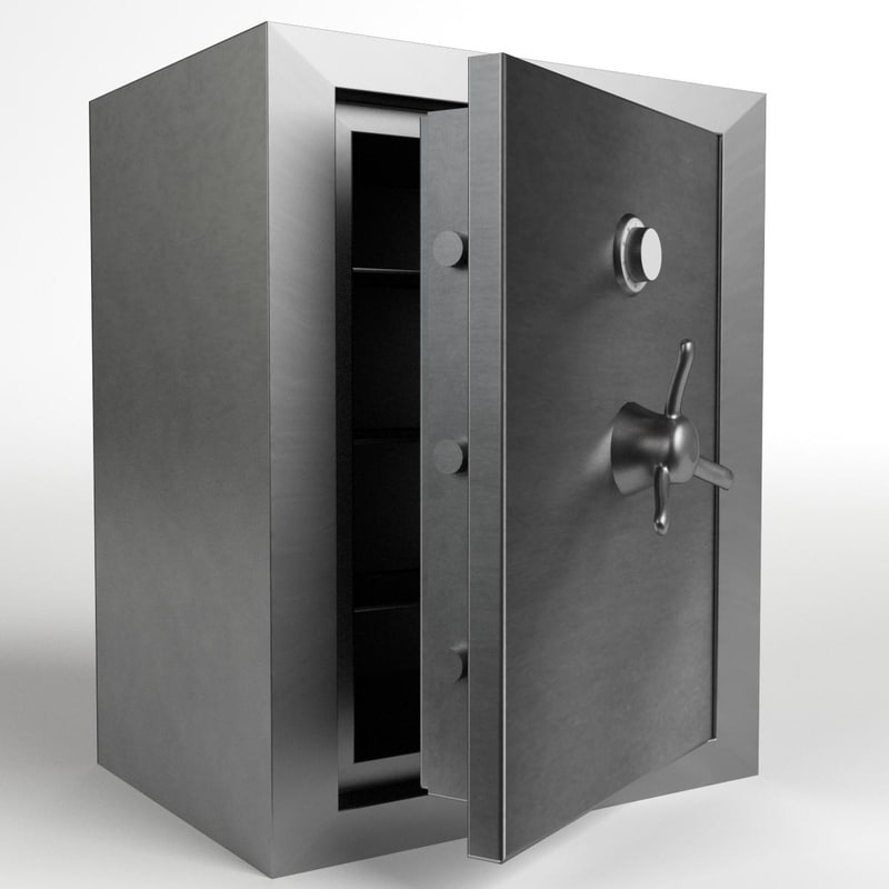 3D safe safety vault 3