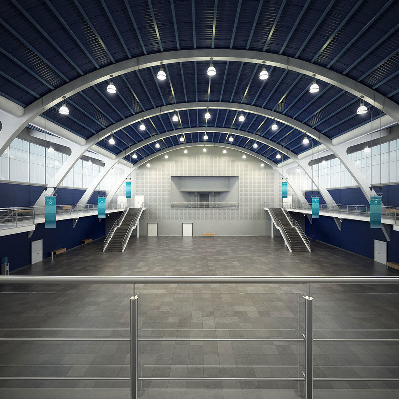3D exhibition hall