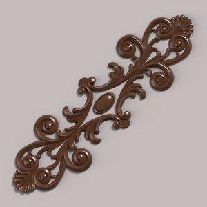 decor carving 3D model