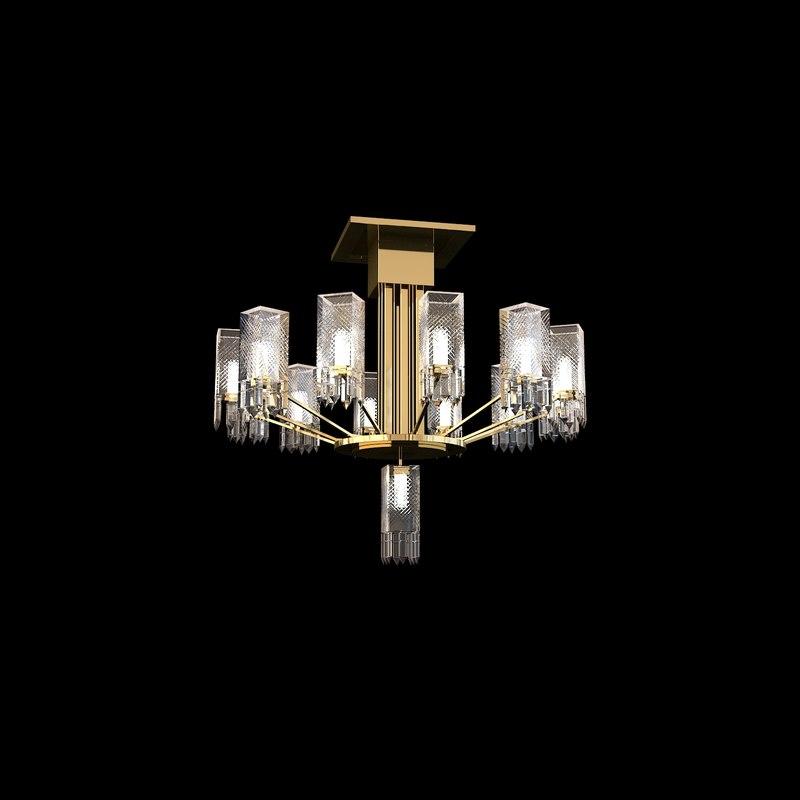 chandeliers patek 3D model