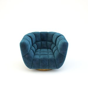 essex armchair 3D model