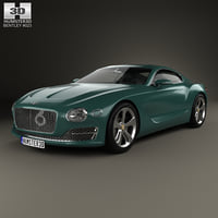 bentley speed 6 3D