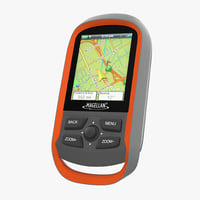 waterproof hiking gps magellan 3D model