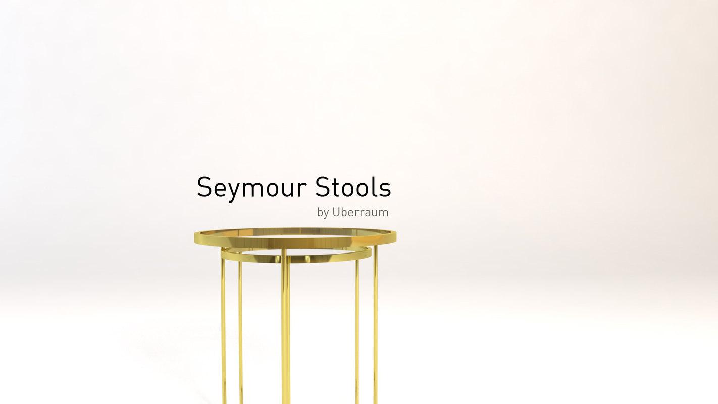 3D seymour stools model