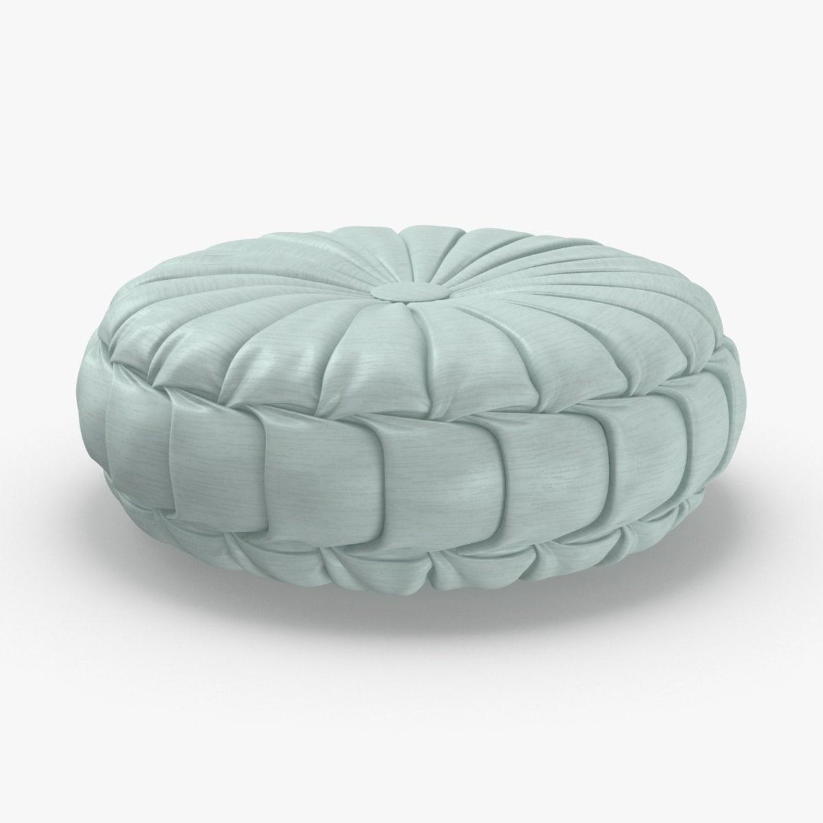 3D throw-pillow-05---blue model