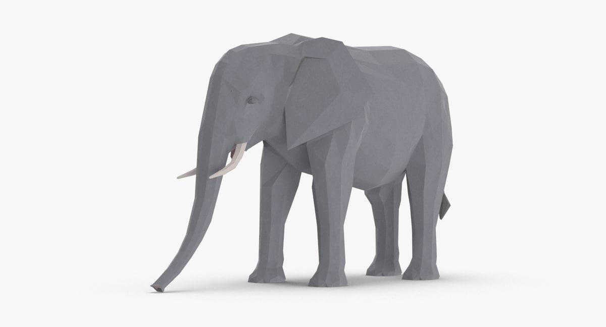 elephant---standing model