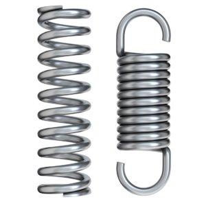 3D metal spring