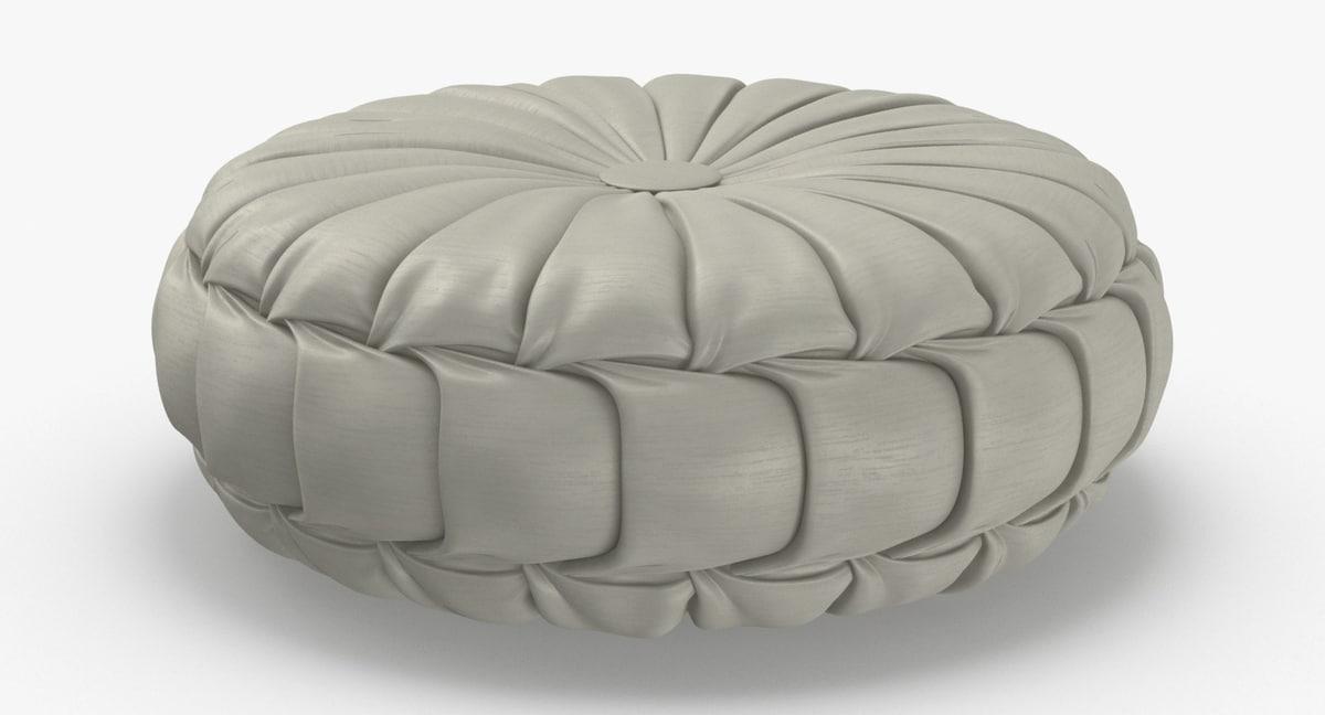 throw-pillow-05---white 3D model