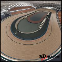 velodrome 2012 3D model