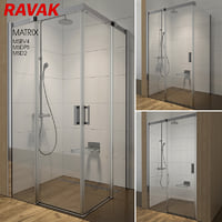 3D shower room ravak matrix