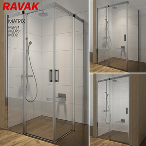 3D shower room ravak matrix