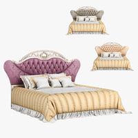 230 carpenter bed b 3D model