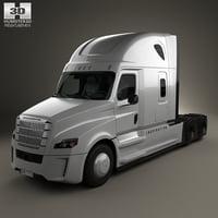 3D freightliner inspiration 2015