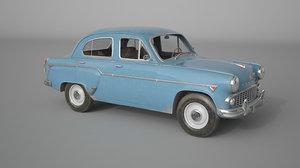 moskvich 407 model