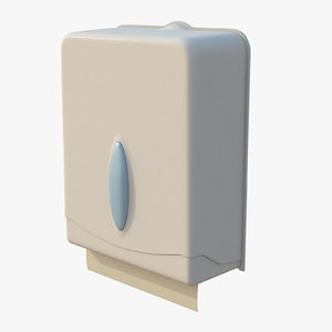 paper towel dispenser 3D model