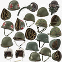 WWII Helmets Collection 01