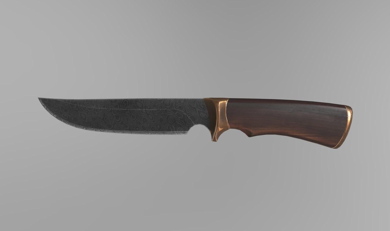knife pbr 3D model