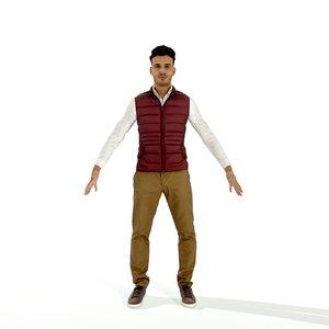 3D human man