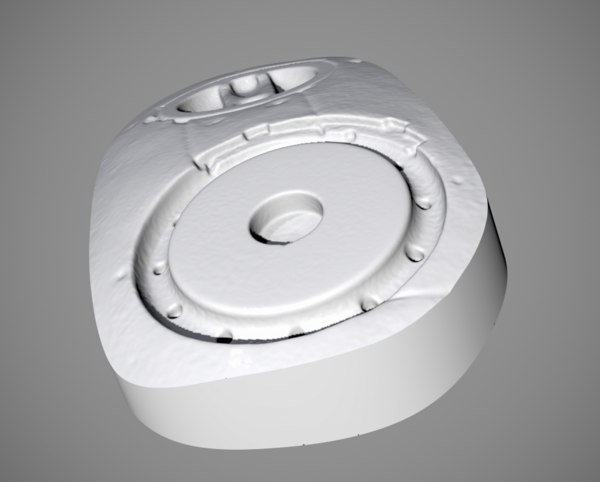 terminator scanned 3D model