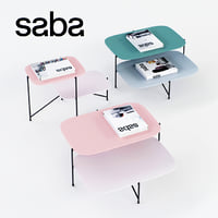 3D saba italia haiku table model