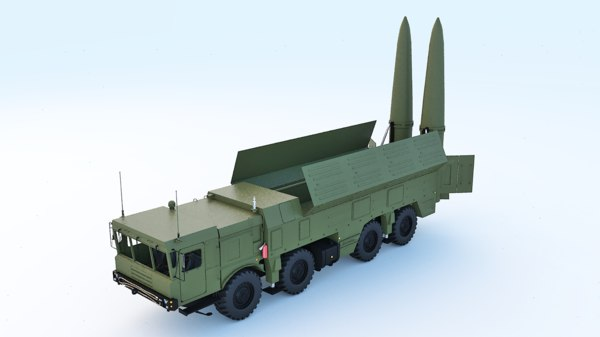 3D russian missile