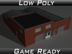 3D factory building 26