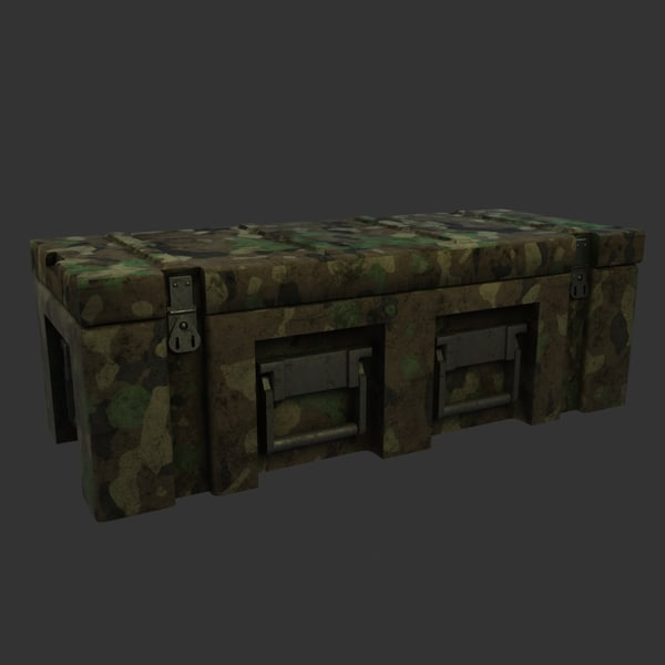 military chest model