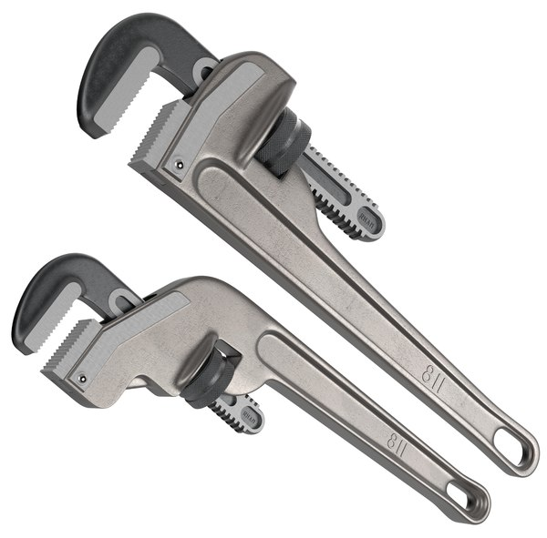pipewrench pipe wrench 3D