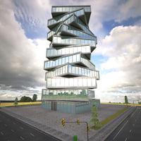 building futuristic 3D