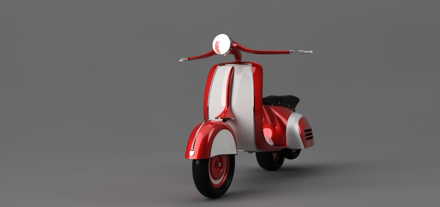 1960 scooter model
