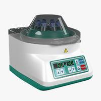 3D centrifuge hettich eba-20 model